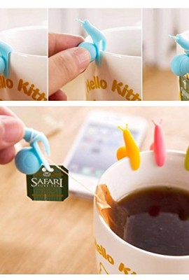 vanki-New-5102050pcs-Cute-Snail-Shape-Silicone-Tea-Bag-Holder-Cup-Mug-Candy-Colors-Gift-Set-10-0