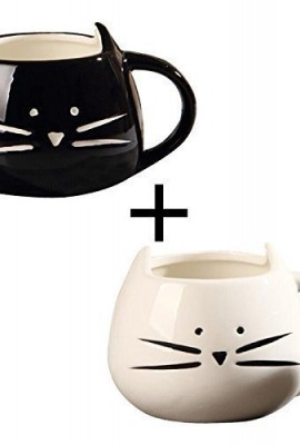 OliaDesign-Black-White-Cat-Coffee-Ceramic-Mugs-Set-of-2-0